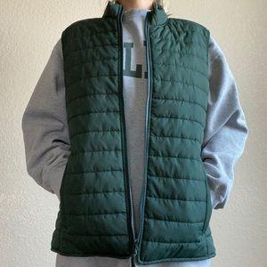 J. Crew Green Quilted Vest Women's or Men's